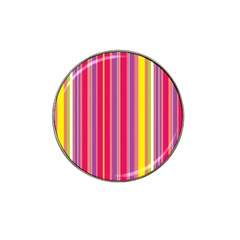 Stripes Colorful Background Hat Clip Ball Marker (10 pack)