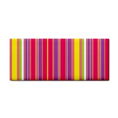Stripes Colorful Background Cosmetic Storage Cases