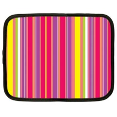 Stripes Colorful Background Netbook Case (xl)