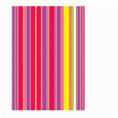 Stripes Colorful Background Large Garden Flag (Two Sides)