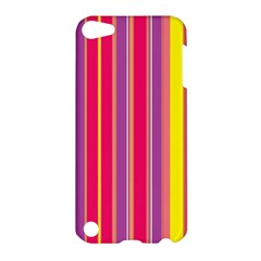 Stripes Colorful Background Apple iPod Touch 5 Hardshell Case