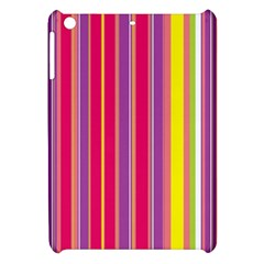 Stripes Colorful Background Apple iPad Mini Hardshell Case