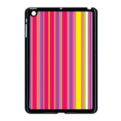 Stripes Colorful Background Apple iPad Mini Case (Black)