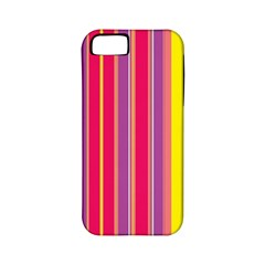 Stripes Colorful Background Apple iPhone 5 Classic Hardshell Case (PC+Silicone)