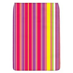 Stripes Colorful Background Flap Covers (L)