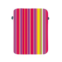 Stripes Colorful Background Apple iPad 2/3/4 Protective Soft Cases