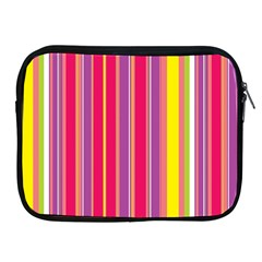 Stripes Colorful Background Apple Ipad 2/3/4 Zipper Cases