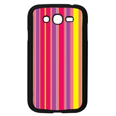 Stripes Colorful Background Samsung Galaxy Grand DUOS I9082 Case (Black)