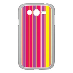 Stripes Colorful Background Samsung Galaxy Grand DUOS I9082 Case (White)