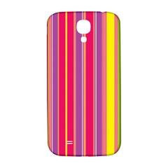 Stripes Colorful Background Samsung Galaxy S4 I9500/I9505  Hardshell Back Case