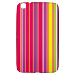 Stripes Colorful Background Samsung Galaxy Tab 3 (8 ) T3100 Hardshell Case