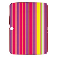 Stripes Colorful Background Samsung Galaxy Tab 3 (10.1 ) P5200 Hardshell Case