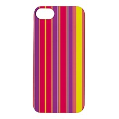 Stripes Colorful Background Apple iPhone 5S/ SE Hardshell Case