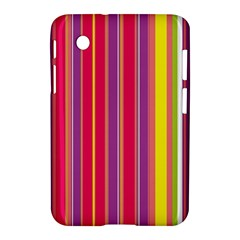 Stripes Colorful Background Samsung Galaxy Tab 2 (7 ) P3100 Hardshell Case