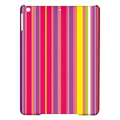 Stripes Colorful Background iPad Air Hardshell Cases