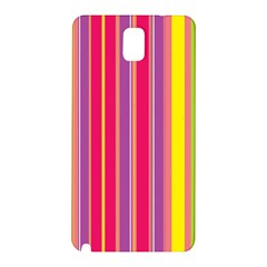 Stripes Colorful Background Samsung Galaxy Note 3 N9005 Hardshell Back Case