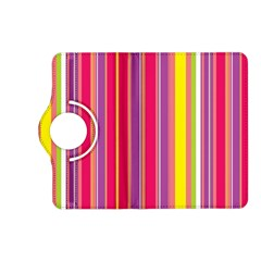 Stripes Colorful Background Kindle Fire HD (2013) Flip 360 Case