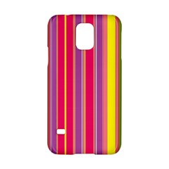 Stripes Colorful Background Samsung Galaxy S5 Hardshell Case
