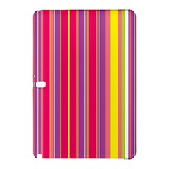 Stripes Colorful Background Samsung Galaxy Tab Pro 10.1 Hardshell Case