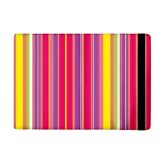 Stripes Colorful Background iPad Mini 2 Flip Cases