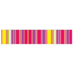 Stripes Colorful Background Flano Scarf (Small)