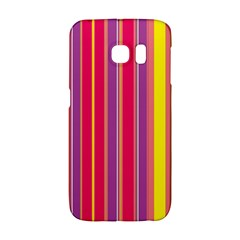 Stripes Colorful Background Galaxy S6 Edge