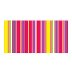 Stripes Colorful Background Satin Wrap