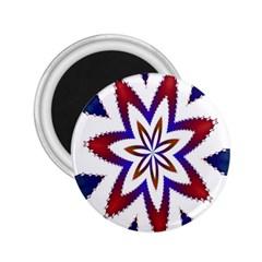 Fractal Flower 2 25  Magnets