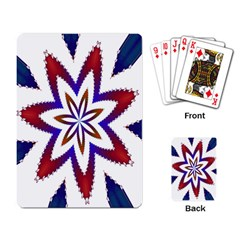 Fractal Flower Playing Card