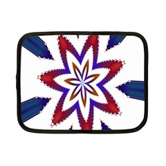 Fractal Flower Netbook Case (Small)