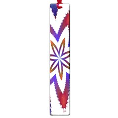 Fractal Flower Large Book Marks