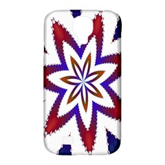 Fractal Flower Samsung Galaxy S4 Classic Hardshell Case (PC+Silicone)