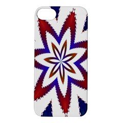Fractal Flower Apple iPhone 5S/ SE Hardshell Case