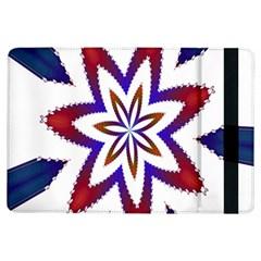Fractal Flower iPad Air Flip