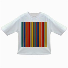 Stripes Background Colorful Infant/Toddler T-Shirts