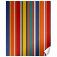 Stripes Background Colorful Canvas 16  X 20