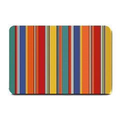Stripes Background Colorful Small Doormat