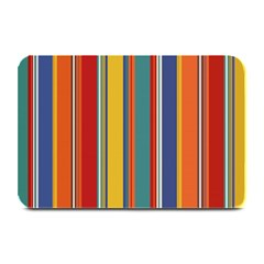 Stripes Background Colorful Plate Mats