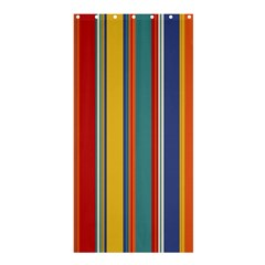 Stripes Background Colorful Shower Curtain 36  x 72  (Stall)