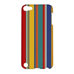 Stripes Background Colorful Apple Ipod Touch 5 Hardshell Case