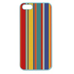 Stripes Background Colorful Apple Seamless iPhone 5 Case (Color)