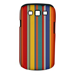 Stripes Background Colorful Samsung Galaxy S III Classic Hardshell Case (PC+Silicone)