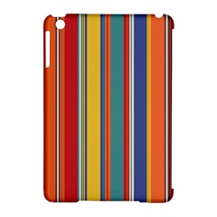 Stripes Background Colorful Apple iPad Mini Hardshell Case (Compatible with Smart Cover)