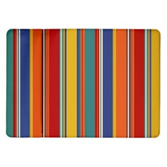 Stripes Background Colorful Samsung Galaxy Tab 10.1  P7500 Flip Case