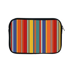 Stripes Background Colorful Apple iPad Mini Zipper Cases