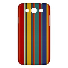 Stripes Background Colorful Samsung Galaxy Mega 5.8 I9152 Hardshell Case