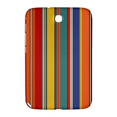 Stripes Background Colorful Samsung Galaxy Note 8.0 N5100 Hardshell Case