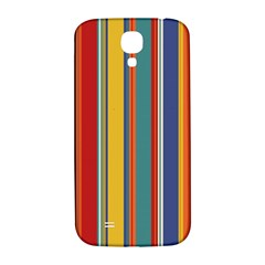 Stripes Background Colorful Samsung Galaxy S4 I9500/I9505  Hardshell Back Case