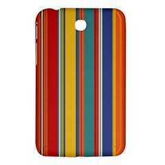 Stripes Background Colorful Samsung Galaxy Tab 3 (7 ) P3200 Hardshell Case