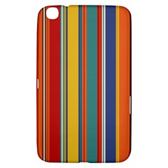 Stripes Background Colorful Samsung Galaxy Tab 3 (8 ) T3100 Hardshell Case